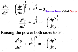 Samacheer Kalvi 12th Maths Solutions Chapter 10 Ordinary Differential Equations Ex 10.9 121
