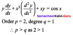 Samacheer Kalvi 12th Maths Solutions Chapter 10 Ordinary Differential Equations Ex 10.9 177