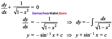 Samacheer Kalvi 12th Maths Solutions Chapter 10 Ordinary Differential Equations Ex 10.9 19