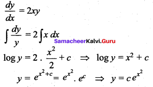 Samacheer Kalvi 12th Maths Solutions Chapter 10 Ordinary Differential Equations Ex 10.9 21