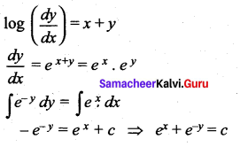 Samacheer Kalvi 12th Maths Solutions Chapter 10 Ordinary Differential Equations Ex 10.9 23