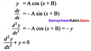 Samacheer Kalvi 12th Maths Solutions Chapter 10 Ordinary Differential Equations Ex 10.9 3