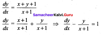 Samacheer Kalvi 12th Maths Solutions Chapter 10 Ordinary Differential Equations Ex 10.9 30
