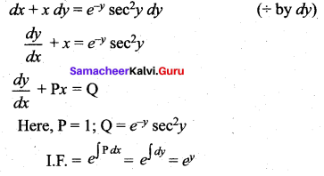 Samacheer Kalvi 12th Maths Solutions Chapter 10 Ordinary Differential Equations Ex 10.9 401