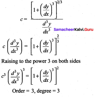 Samacheer Kalvi 12th Maths Solutions Chapter 10 Ordinary Differential Equations Ex 10.9 54
