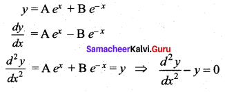 Samacheer Kalvi 12th Maths Solutions Chapter 10 Ordinary Differential Equations Ex 10.9 6