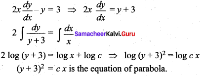 Samacheer Kalvi 12th Maths Solutions Chapter 10 Ordinary Differential Equations Ex 10.9 9
