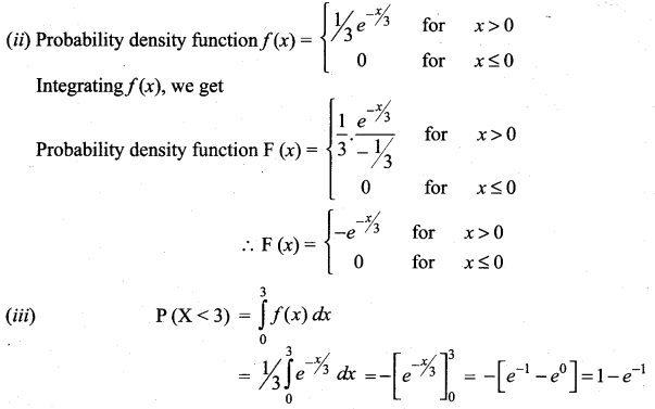 Samacheer Kalvi 12th Maths Solutions Chapter 11 Probability Distributions Ex 11.3 11