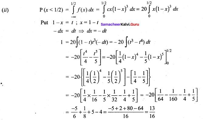 Samacheer Kalvi 12th Maths Solutions Chapter 11 Probability Distributions Ex 11.3 24