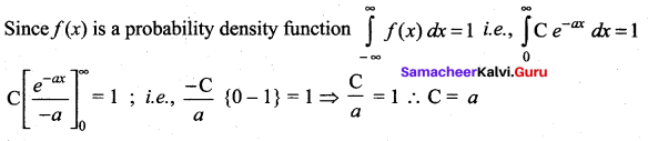 Samacheer Kalvi 12th Maths Solutions Chapter 11 Probability Distributions Ex 11.3 277