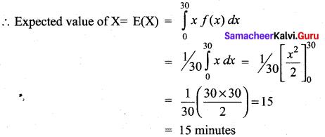 Samacheer Kalvi 12th Maths Solutions Chapter 11 Probability Distributions Ex 11.4 15