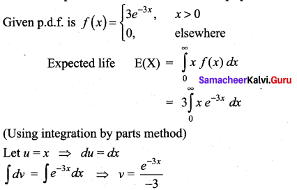 Samacheer Kalvi 12th Maths Solutions Chapter 11 Probability Distributions Ex 11.4 17