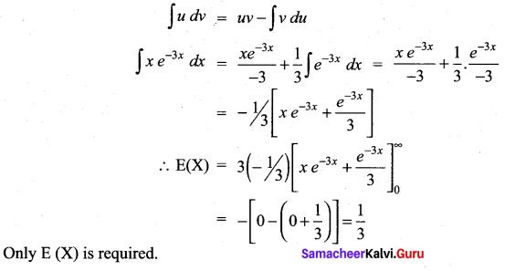 Samacheer Kalvi 12th Maths Solutions Chapter 11 Probability Distributions Ex 11.4 18