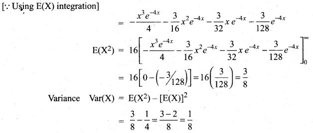 Samacheer Kalvi 12th Maths Solutions Chapter 11 Probability Distributions Ex 11.4 22