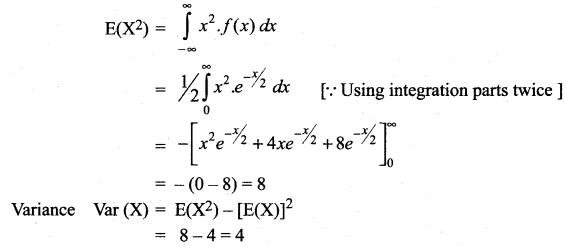 Samacheer Kalvi 12th Maths Solutions Chapter 11 Probability Distributions Ex 11.4 7