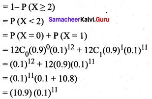 Samacheer Kalvi 12th Maths Solutions Chapter 11 Probability Distributions Ex 11.5 15