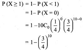Samacheer Kalvi 12th Maths Solutions Chapter 11 Probability Distributions Ex 11.5 6