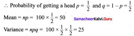 Samacheer Kalvi 12th Maths Solutions Chapter 11 Probability Distributions Ex 11.5 7