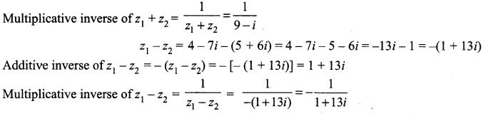 Samacheer Kalvi 12th Maths Solutions Chapter 2 Complex Numbers Ex 2.3 1