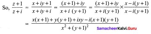 Samacheer Kalvi 12th Maths Solutions Chapter 2 Complex Numbers Ex 2.6 122