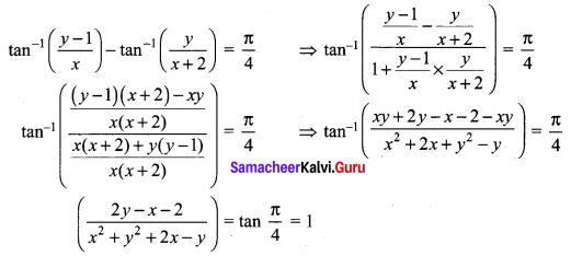 Samacheer Kalvi 12th Maths Solutions Chapter 2 Complex Numbers Ex 2.7 Q6
