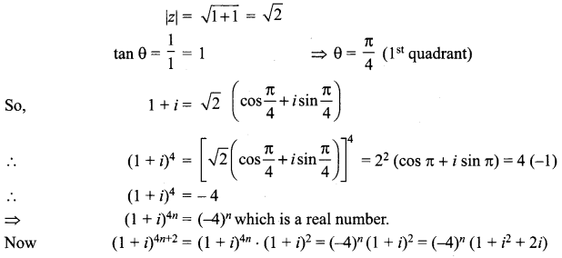 Samacheer Kalvi 12th Maths Solutions Chapter 2 Complex Numbers Ex 2.8 6