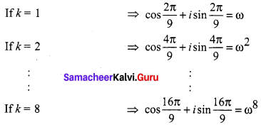 Samacheer Kalvi 12th Maths Solutions Chapter 2 Complex Numbers Ex 2.8 Q7