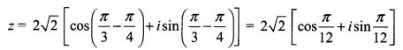 Samacheer Kalvi 12th Maths Solutions Chapter 2 Complex Numbers Ex 2.8 Q9