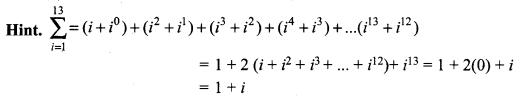 Samacheer Kalvi 12th Maths Solutions Chapter 2 Complex Numbers Ex 2.9 Q2