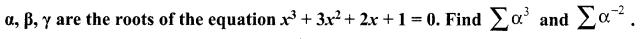 Samacheer Kalvi Guru 12 Maths Chapter 3 Theory of Equations Ex 3.1