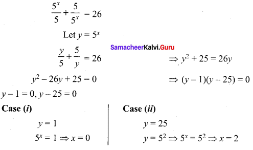 Samacheer Kalvi 12th Maths Solutions Chapter 3 Theory of Equations Ex 3.5 5