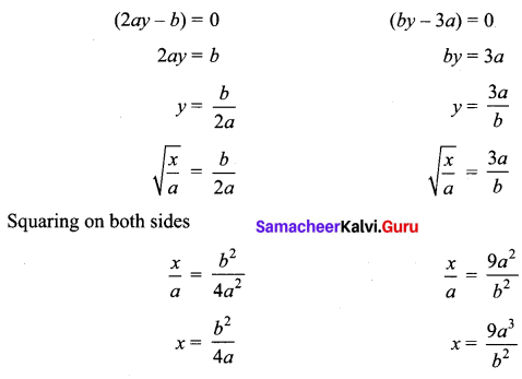 Samacheer Kalvi 12th Maths Solutions Chapter 3 Theory of Equations Ex 3.5 Q4.1