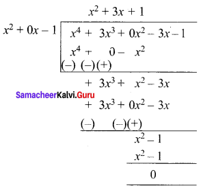 Samacheer Kalvi 12th Maths Solutions Chapter 3 Theory of Equations Ex 3.5 Q5.3
