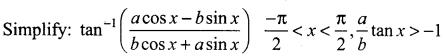 Samacheer Kalvi 12th Maths Solutions Chapter 4 Inverse Trigonometric Functions Ex 4.6 11