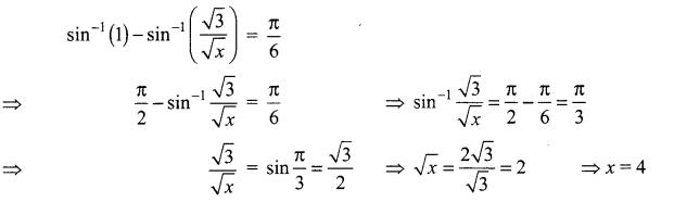 Samacheer Kalvi 12th Maths Solutions Chapter 4 Inverse Trigonometric Functions Ex 4.6 15