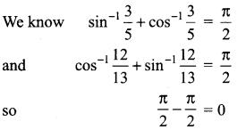 Samacheer Kalvi 12th Maths Solutions Chapter 4 Inverse Trigonometric Functions Ex 4.6 4