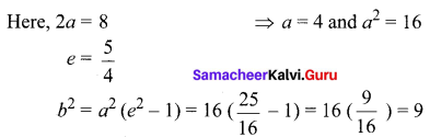 Samacheer Kalvi 12th Maths Solutions Chapter 5 Two Dimensional Analytical Geometry - II Ex 5.2 2