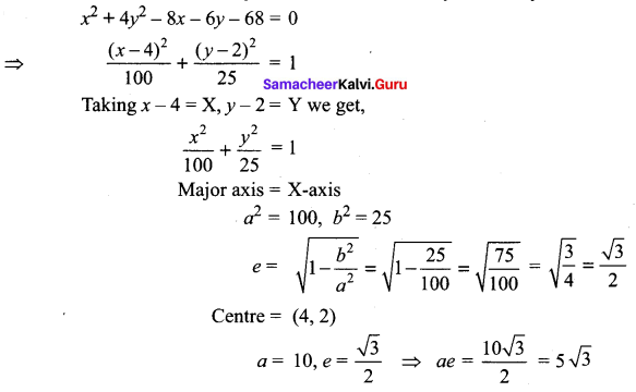 Samacheer Kalvi 12th Maths Solutions Chapter 5 Two Dimensional Analytical Geometry - II Ex 5.2 42