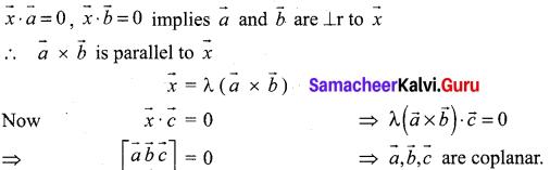 Samacheer Kalvi 12th Maths Solutions Chapter 6 Applications of Vector Algebra Ex 6.2 23