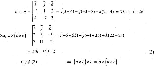 Samacheer Kalvi 12th Maths Solutions Chapter 6 Applications of Vector Algebra Ex 6.2 30