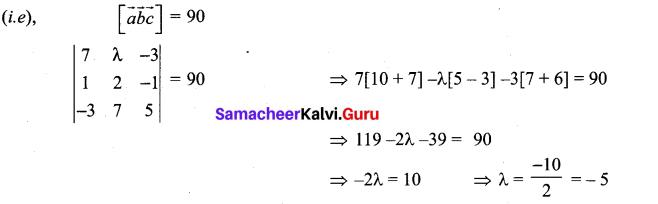 Samacheer Kalvi 12th Maths Solutions Chapter 6 Applications of Vector Algebra Ex 6.2 6