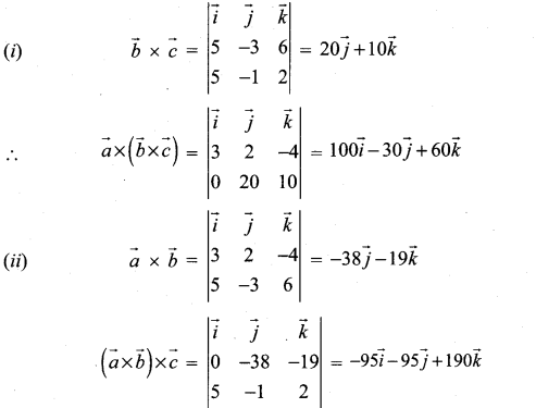 Samacheer Kalvi 12th Maths Solutions Chapter 6 Applications of Vector Algebra Ex 6.3 17