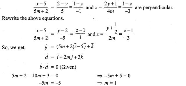 Samacheer Kalvi 12th Maths Solutions Chapter 6 Applications of Vector Algebra Ex 6.4 12