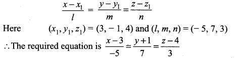 Samacheer Kalvi 12th Maths Solutions Chapter 6 Applications of Vector Algebra Ex 6.4 13