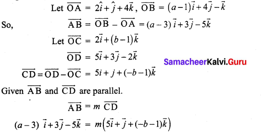 Samacheer Kalvi 12th Maths Solutions Chapter 6 Applications of Vector Algebra Ex 6.4 9
