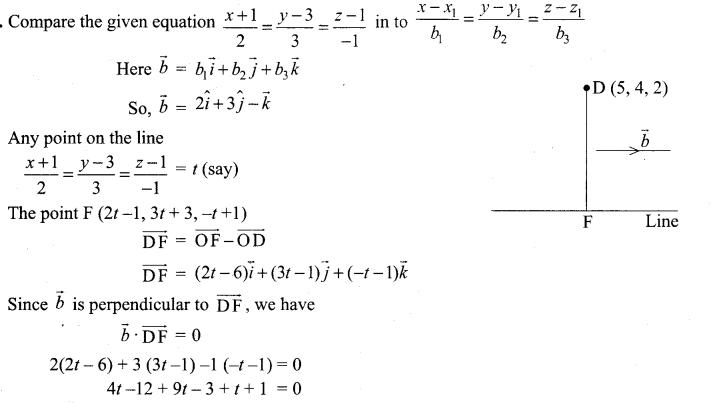Samacheer Kalvi 12th Maths Solutions Chapter 6 Applications of Vector Algebra Ex 6.5 14