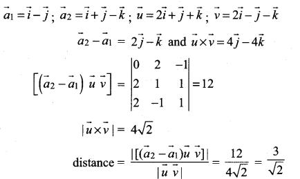 Samacheer Kalvi 12th Maths Solutions Chapter 6 Applications of Vector Algebra Ex 6.5 23