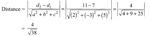 Samacheer Kalvi 12th Maths Solutions Chapter 6 Applications of Vector Algebra Ex 6.9 4