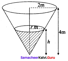 Samacheer Kalvi 12th Maths Solutions Chapter 7 Applications of Differential Calculus Ex 7.1 15