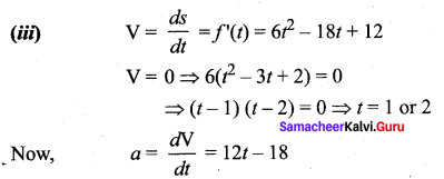 Samacheer Kalvi 12th Maths Solutions Chapter 7 Applications of Differential Calculus Ex 7.1 5